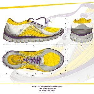 Spor Ayakkabı Projesi